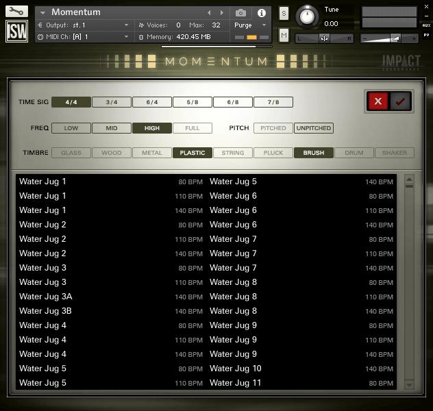 Impact Soundworks Momentum 2