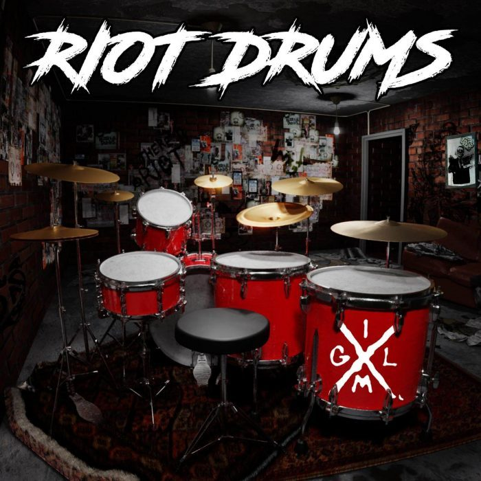 It Might Get Loud Riot Drums