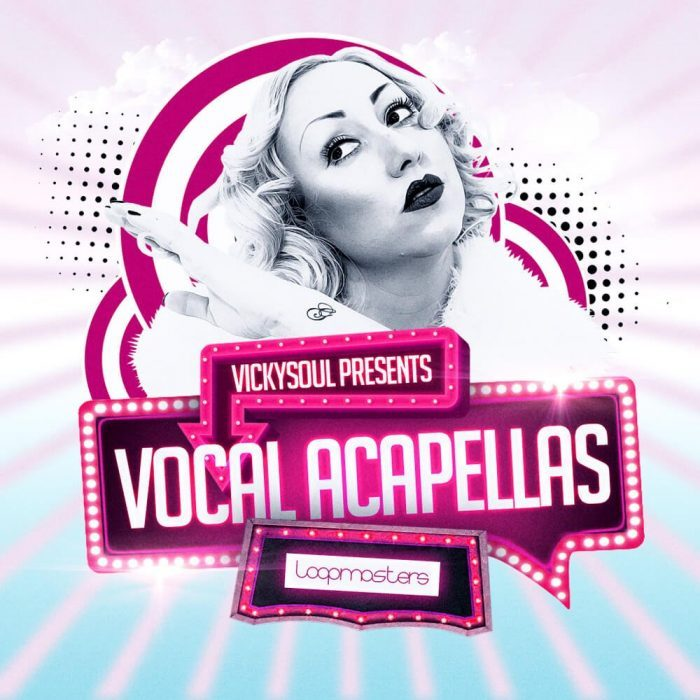 Loopmasters releases Vickysoul Vocal Acapellas sample pack