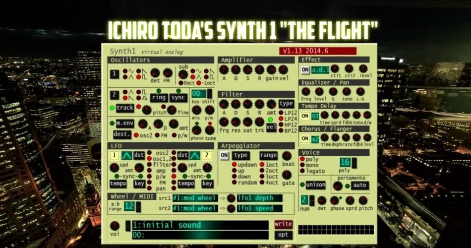 Project Mars The Flight for Synth1