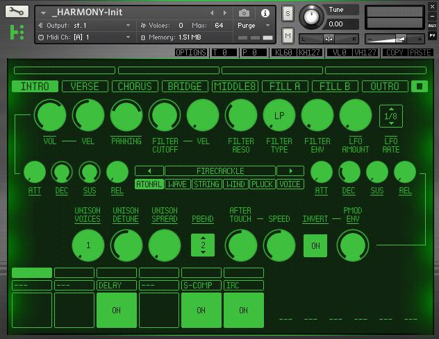 Rigid Audio Hypernode Harmony Module
