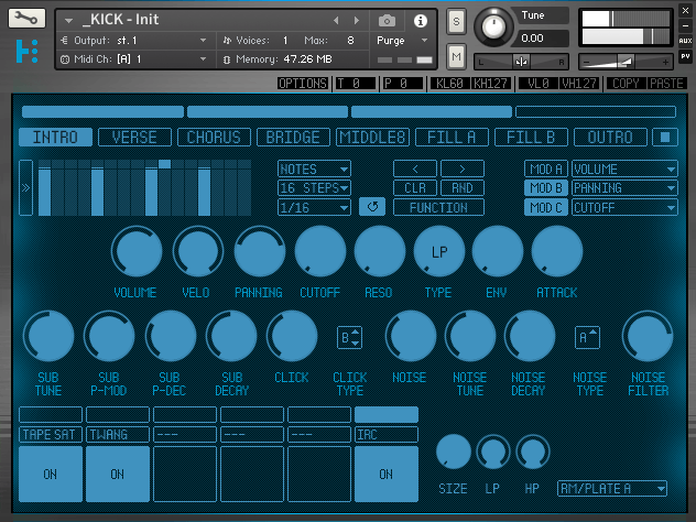 Rigid Audio Hypernode Percussion Module (Kickdrum)