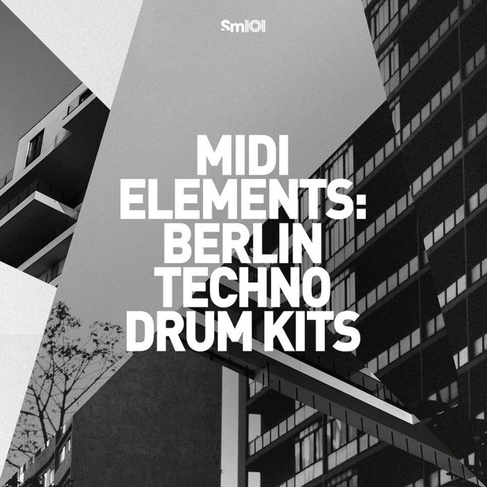 Sample Magic MIDI Elements Berlin Techno Drum Kits