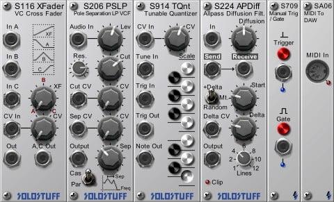 SoloStuff SoloRack new modules