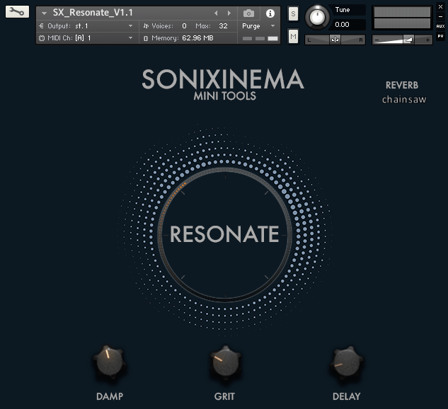 Sonixinema Resonate