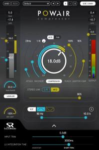 Sound Radix POWAIR compressor