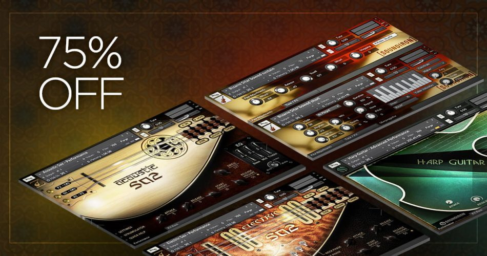 Soundiron Exotic Strings Bundle Sale