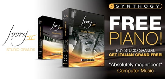 Synthogy Free Piano Deal