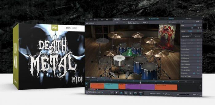 Toontrack Death Metal MIDI