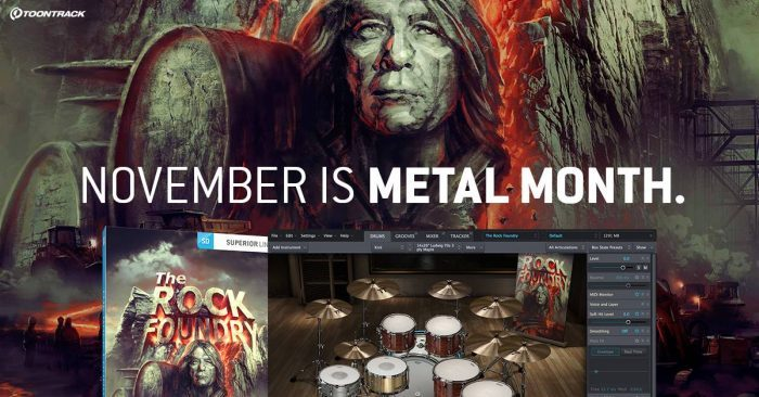 Toontrack Metal Month