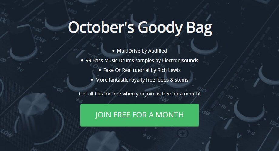 Track Spark October goody bag