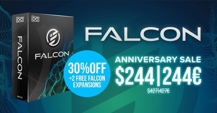 UVI Falcon 1.4 sale