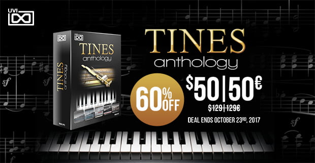UVI Tines Anthology sale