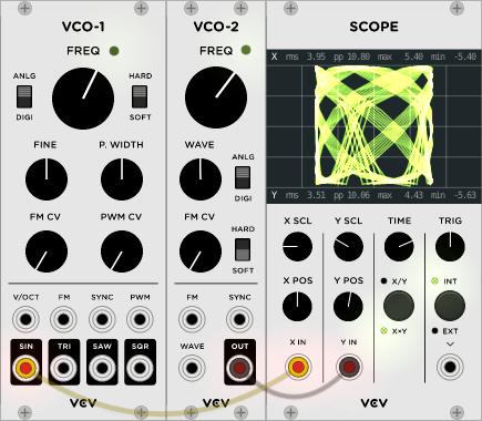VCV Rack 0.4.0 VCO 2