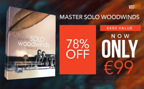 VST Buzz Auddict Master Solo Woodwinds Bundle