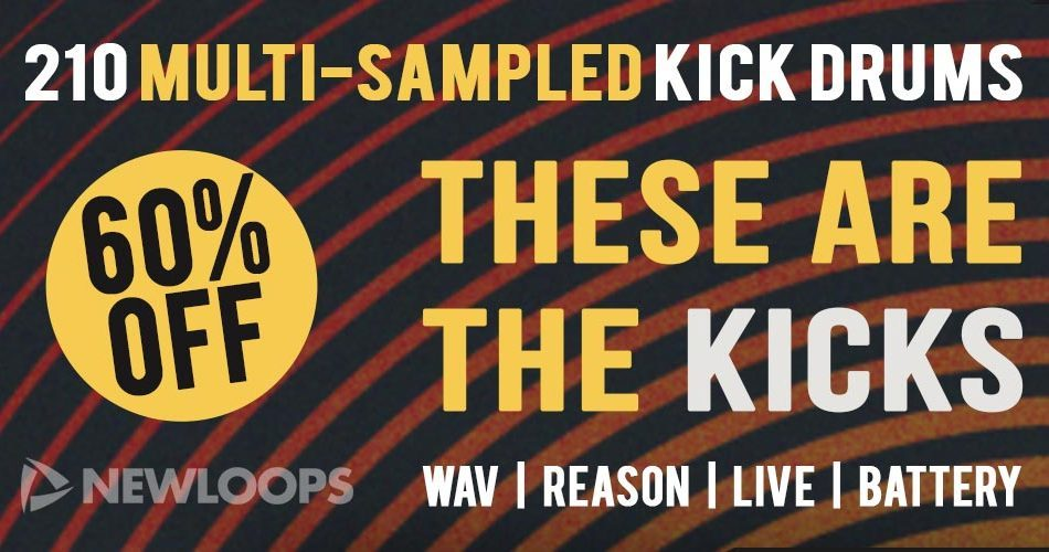 60 Off These Are The Kicks Banner