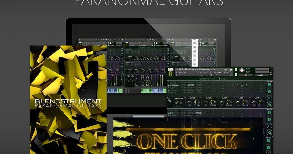 8Dio Blendinstrument Paranormal Guitars