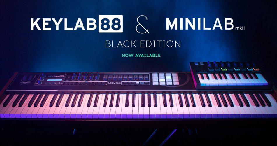 Arturia KeyLab 88 & MiniLab MkII Black Edition