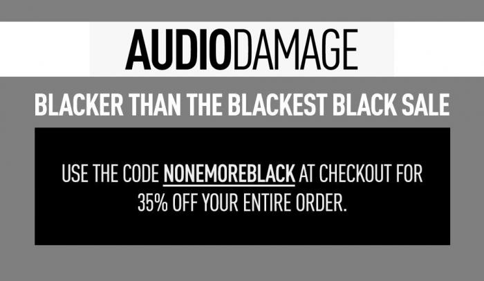 Audio Damage Black Friday Sale