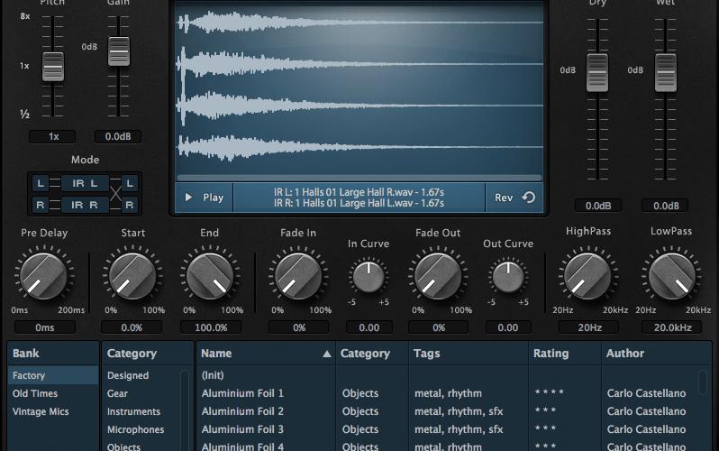 AudioThing Fog Convolver screen