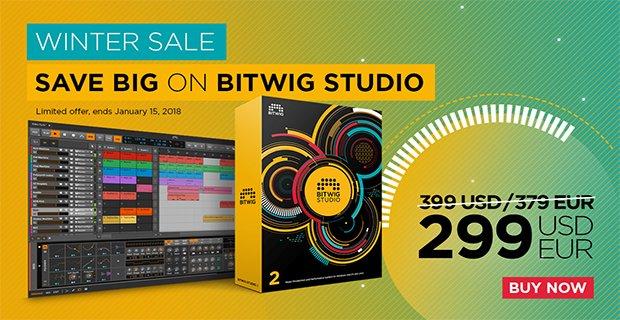 Bitwig Studio 2 sale