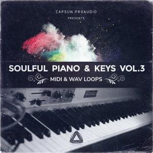 CAPSUN ProAudio Soulful Piano & Keys Vol. 3