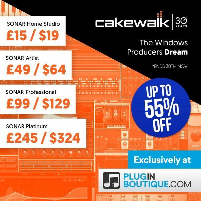 Cakewalk SONAR sale