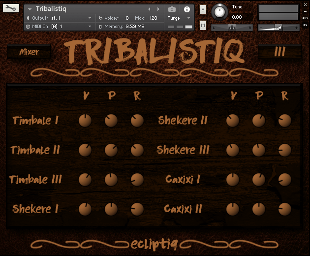 Ecliptic Audio Tribalistiq