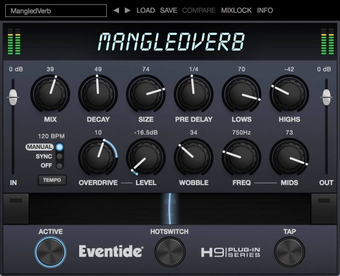 Eventide MangledVerb screen