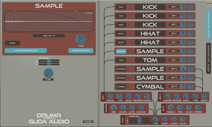 GuDa Audio DrumR 2.4