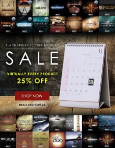 Impact Soundworks Black Friday 2017