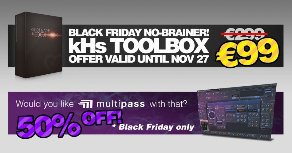 Kilohearts Black Friday