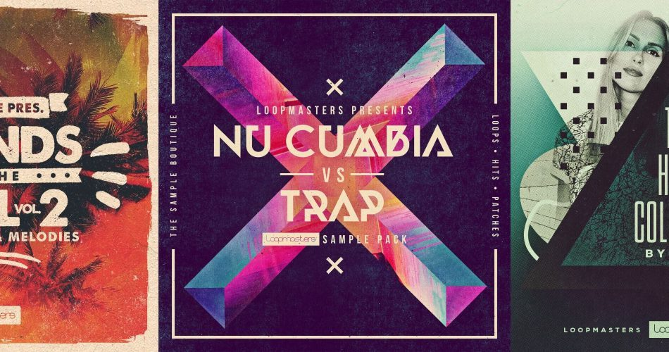 Loopmasters Sounds For The Soul Vol 2, Nu Cumbia vs Trap & Tech House Collection by Anek