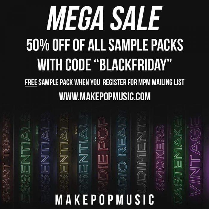 Make Pop Music Black Friday