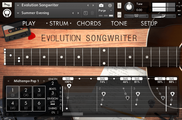 Orange Tree Samples Evolution Songwriter Strum