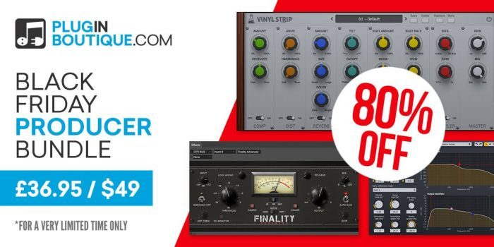 Plugin Boutique Black Friday Producer Bundle