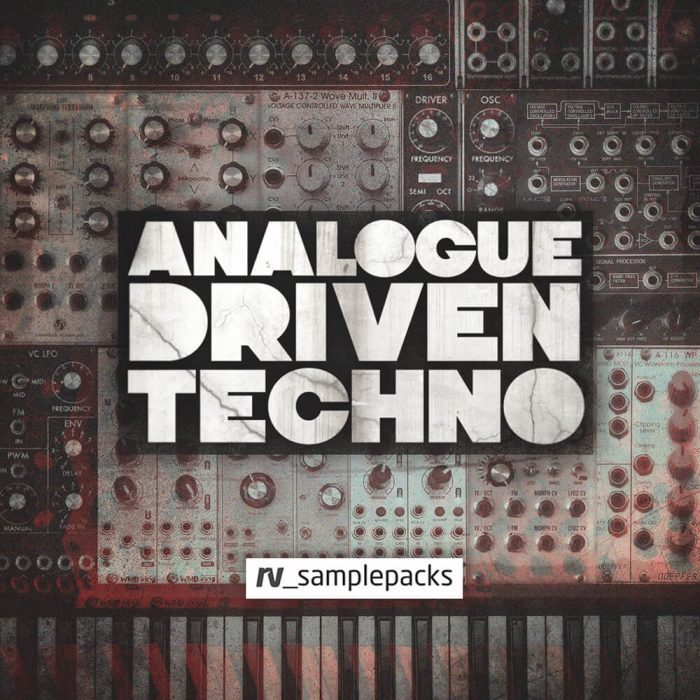 RV Samplepacks Analogue Driven Techno