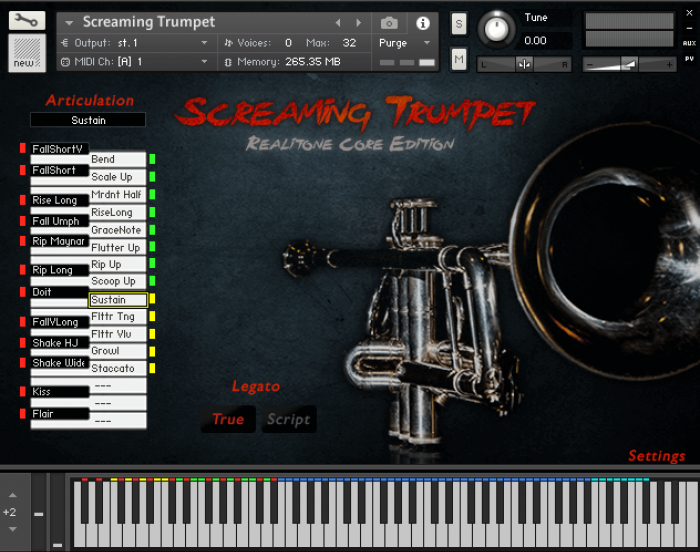 Realitone Screaming Trumpet