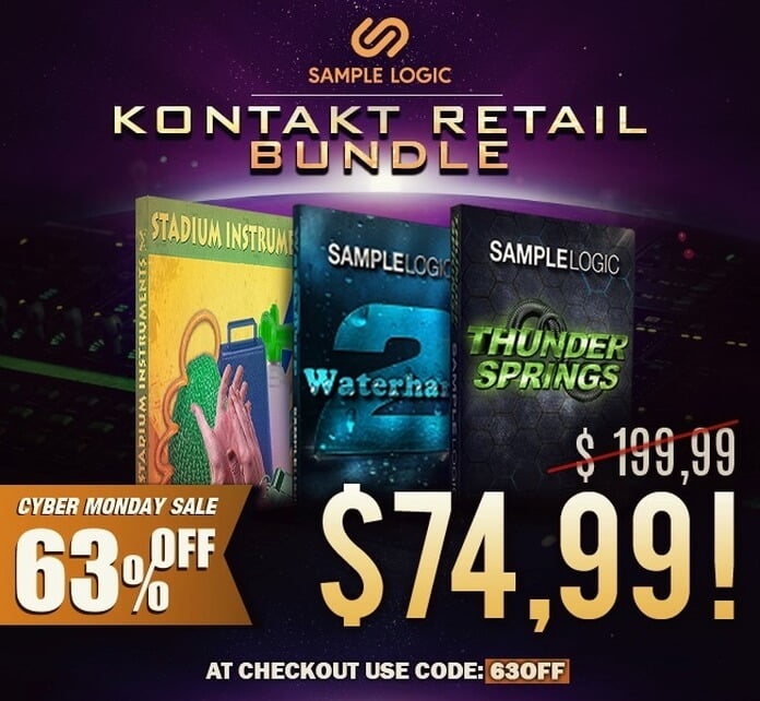 Sample Logic Kontakt Retail Bundle deal