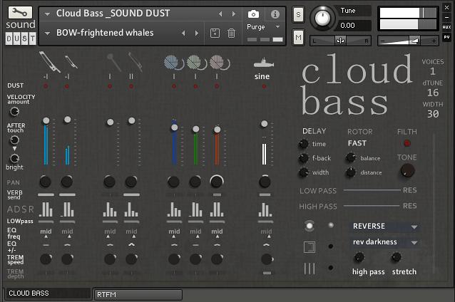 Sound Dust Cloud Bass