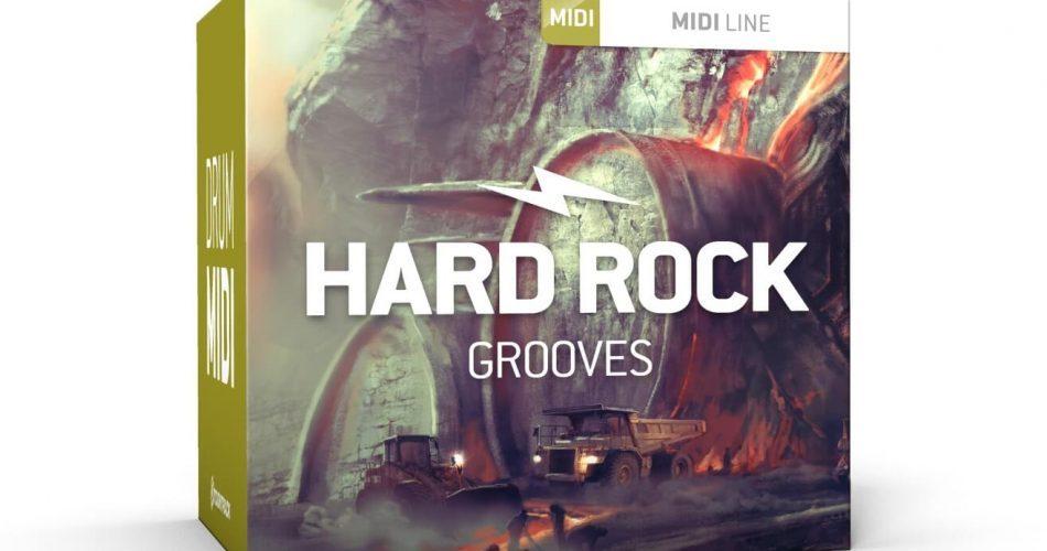 Toontrack Hard Rock Grooves MIDI Pack