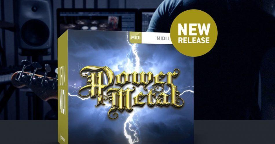 Toontrack Power Metal MIDI