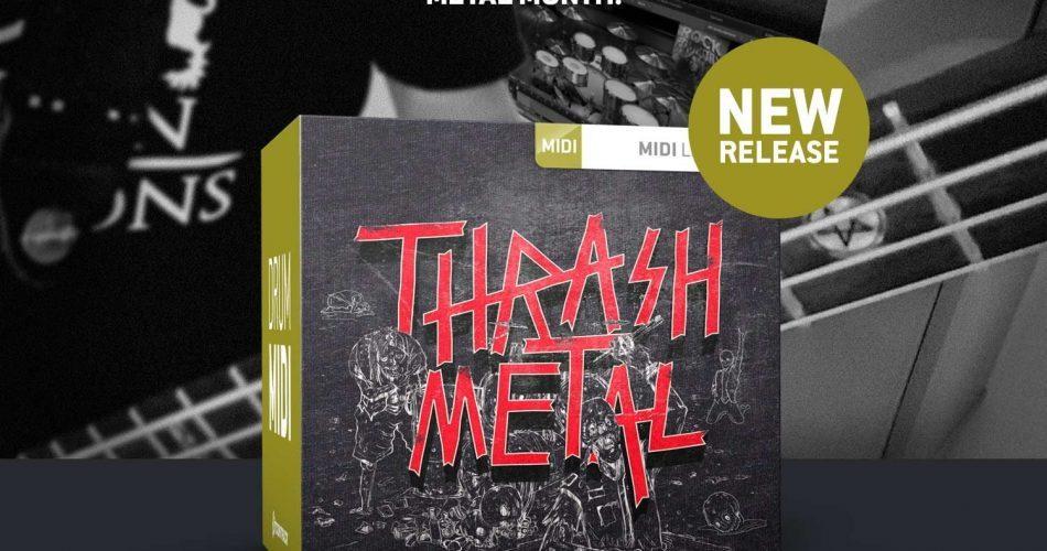 Toontrack Trash Metal MIDI