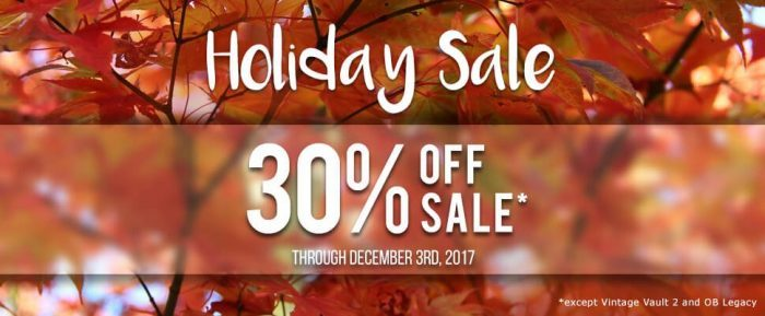 UVI Holiday Sale