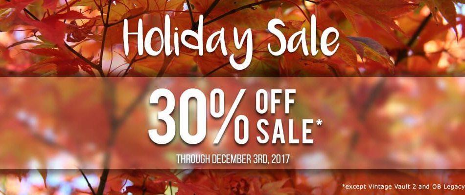 UVI Holiday Sale