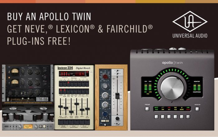 Universal Audio Apollo Twin promo