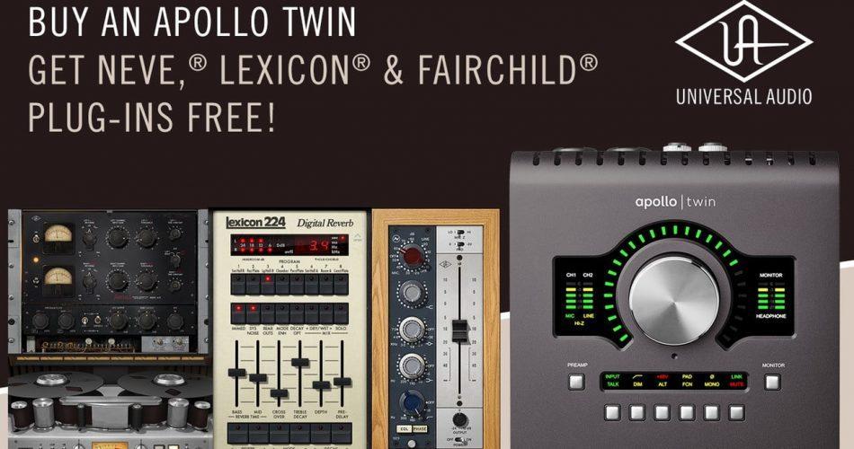 Universal Audio Apollo Twin promo
