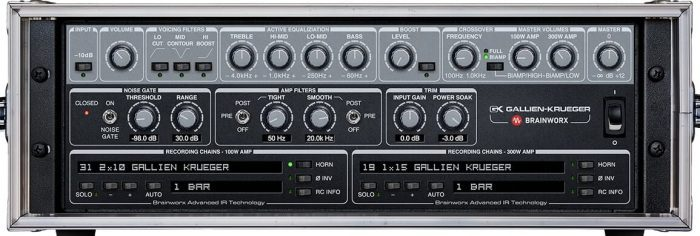 Universal Audio Gallien Krueger 800RB Bass Amp advanced