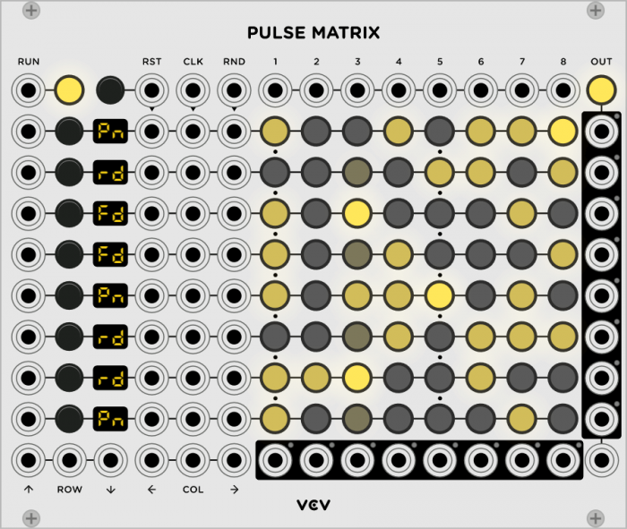 VCV Pulse Matrix 8