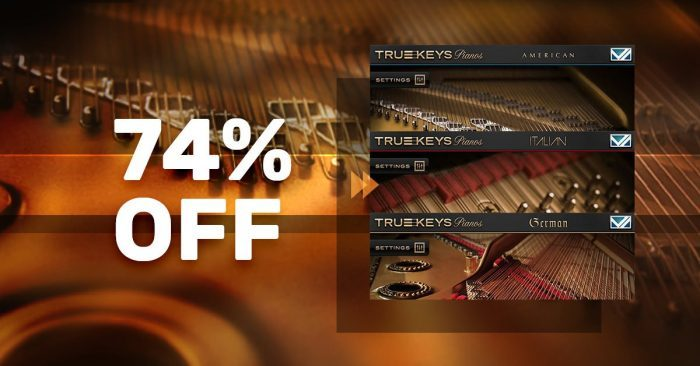 VST Buzz True Keys Pianos Bundle